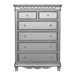 Thumbnail of Heritage Baby Products - 6 Drawer Chest Metallic