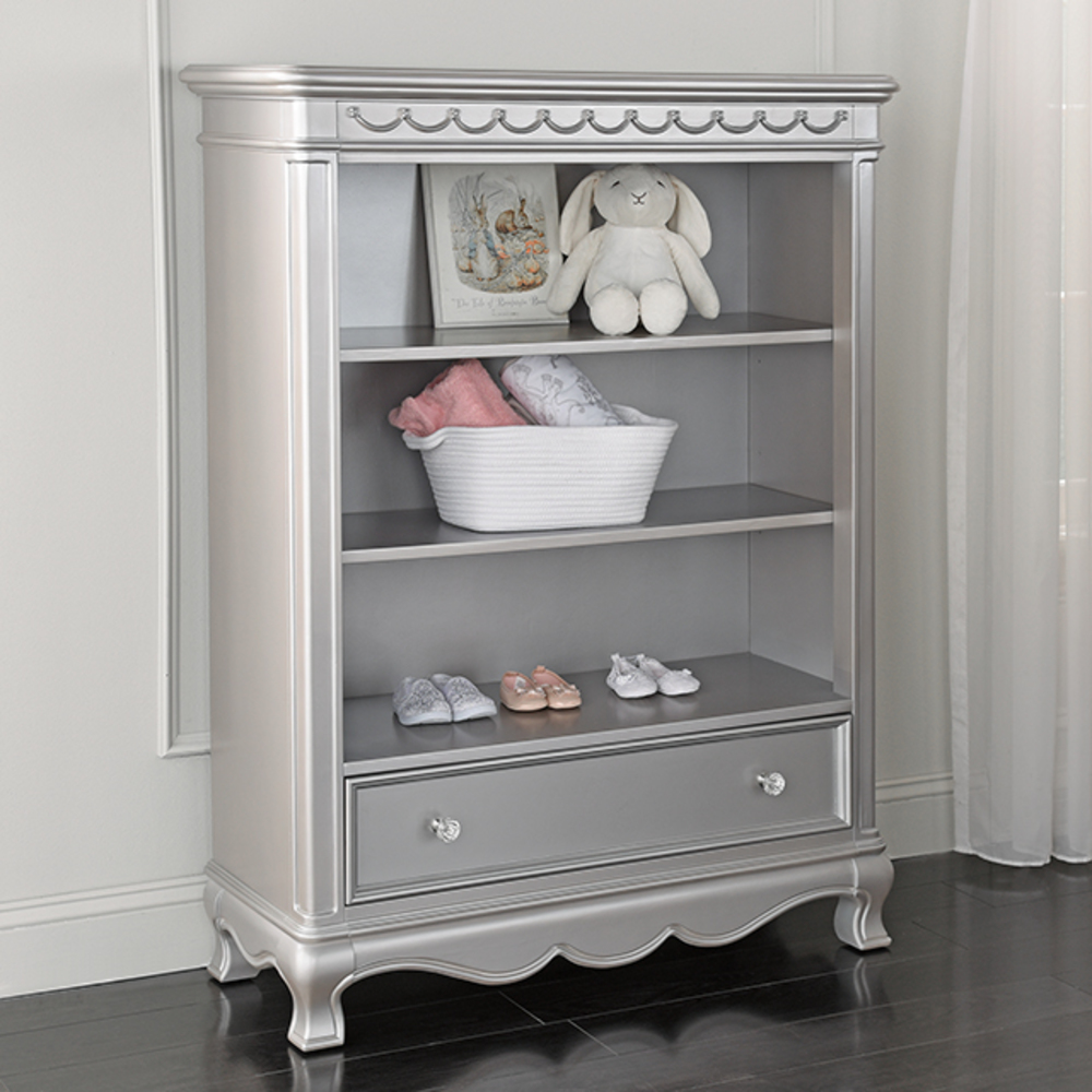 Heritage Baby Products - Bookcase Metallic