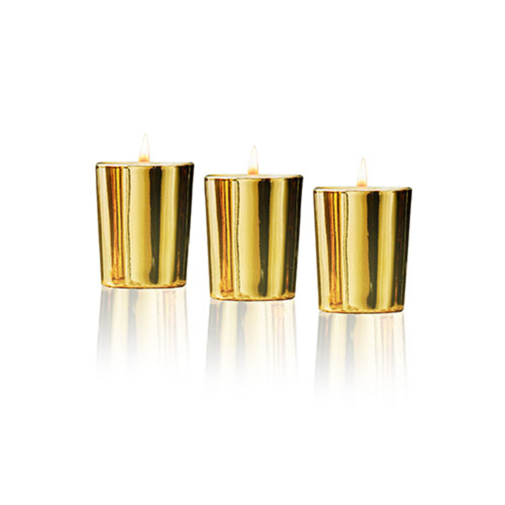 Lafco New York - 1.9oz Votive Gift Trio (Frosted Pine, Winter Currant, + Spiced Pomander)