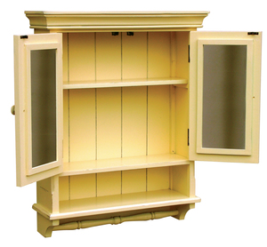 Thumbnail of Trade Winds Furniture - Provincial Mirrored Cabinet
