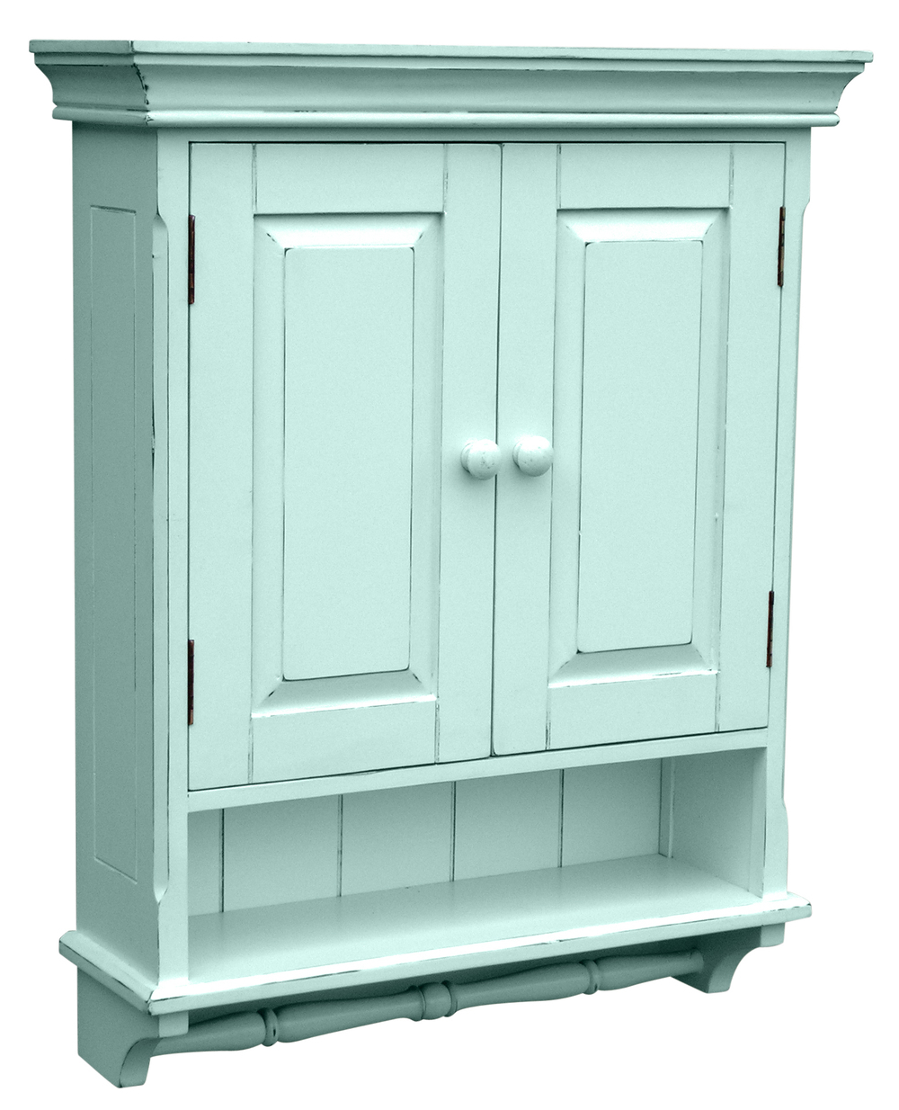 Trade Winds Furniture - Provincial Mirrored Cabinet