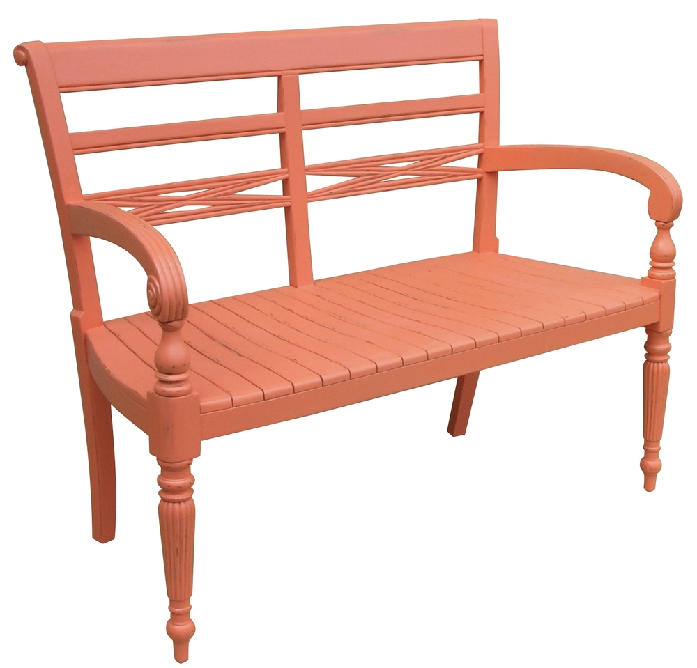 Trade Winds Furniture - Raffles Two Seat Bench