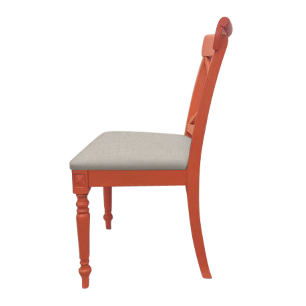 Trade Winds Furniture - Cross Back Side Chair