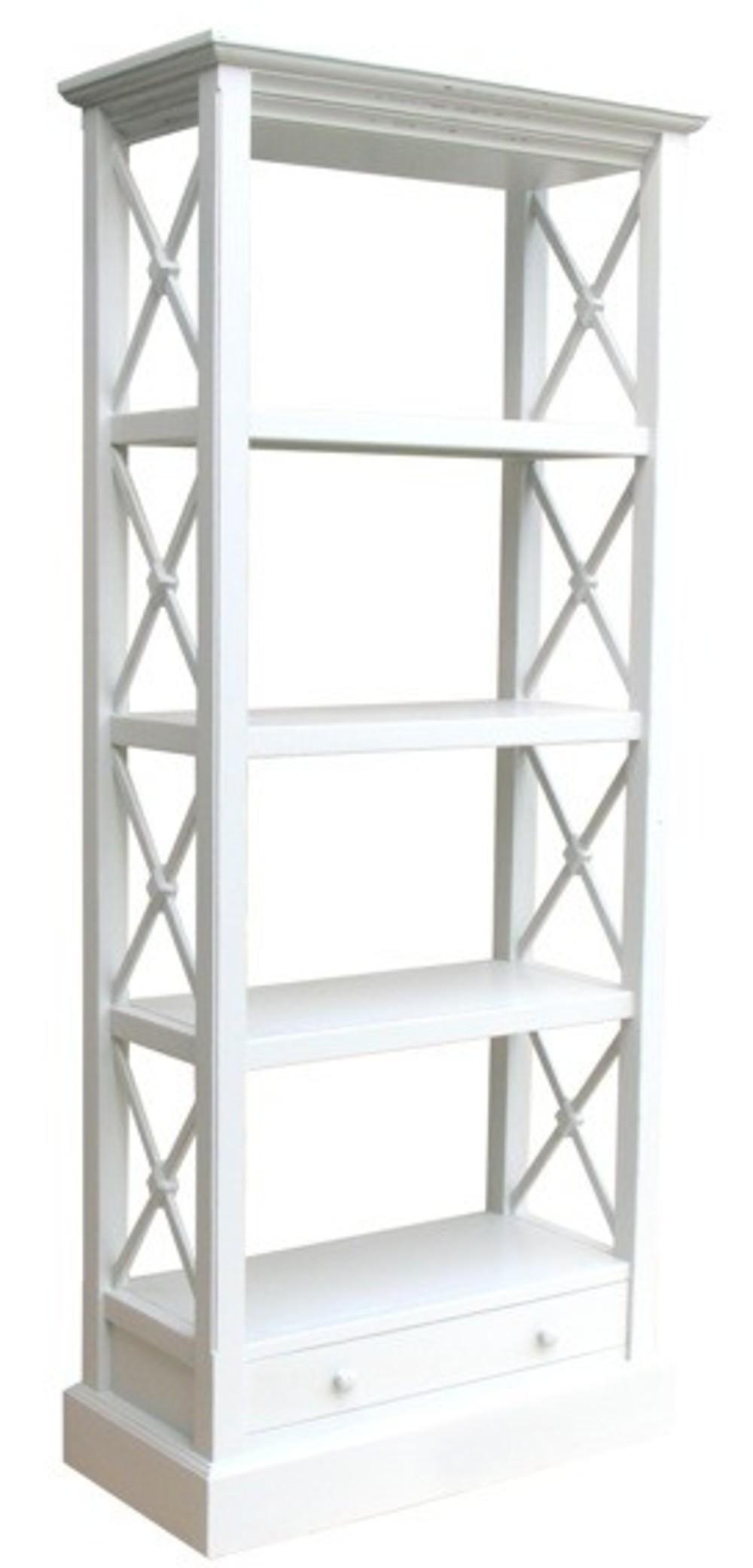 Trade Winds Furniture - Cross Bar Bookshelf
