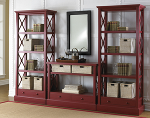 Thumbnail of Trade Winds Furniture - Cross Bar Bookshelves and Console