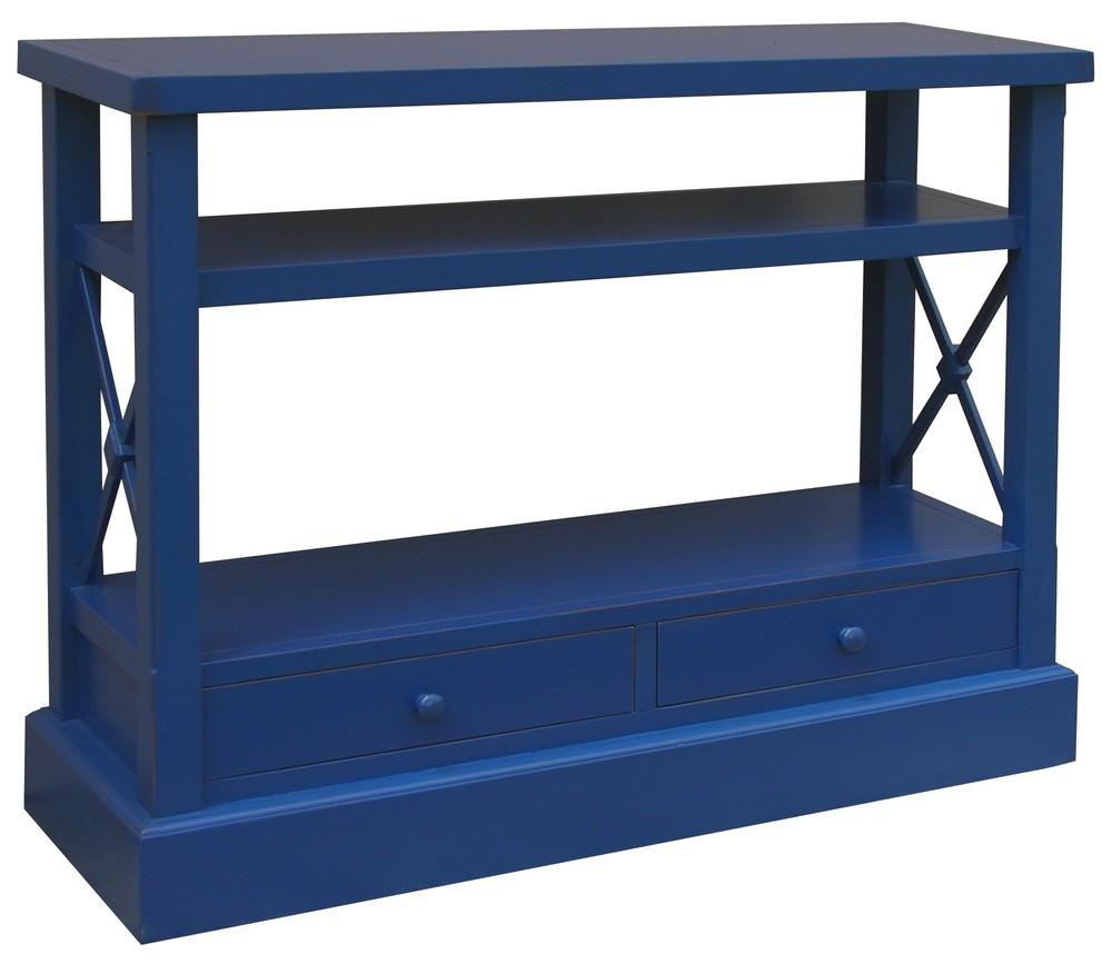 Trade Winds Furniture - Cross Bar Console