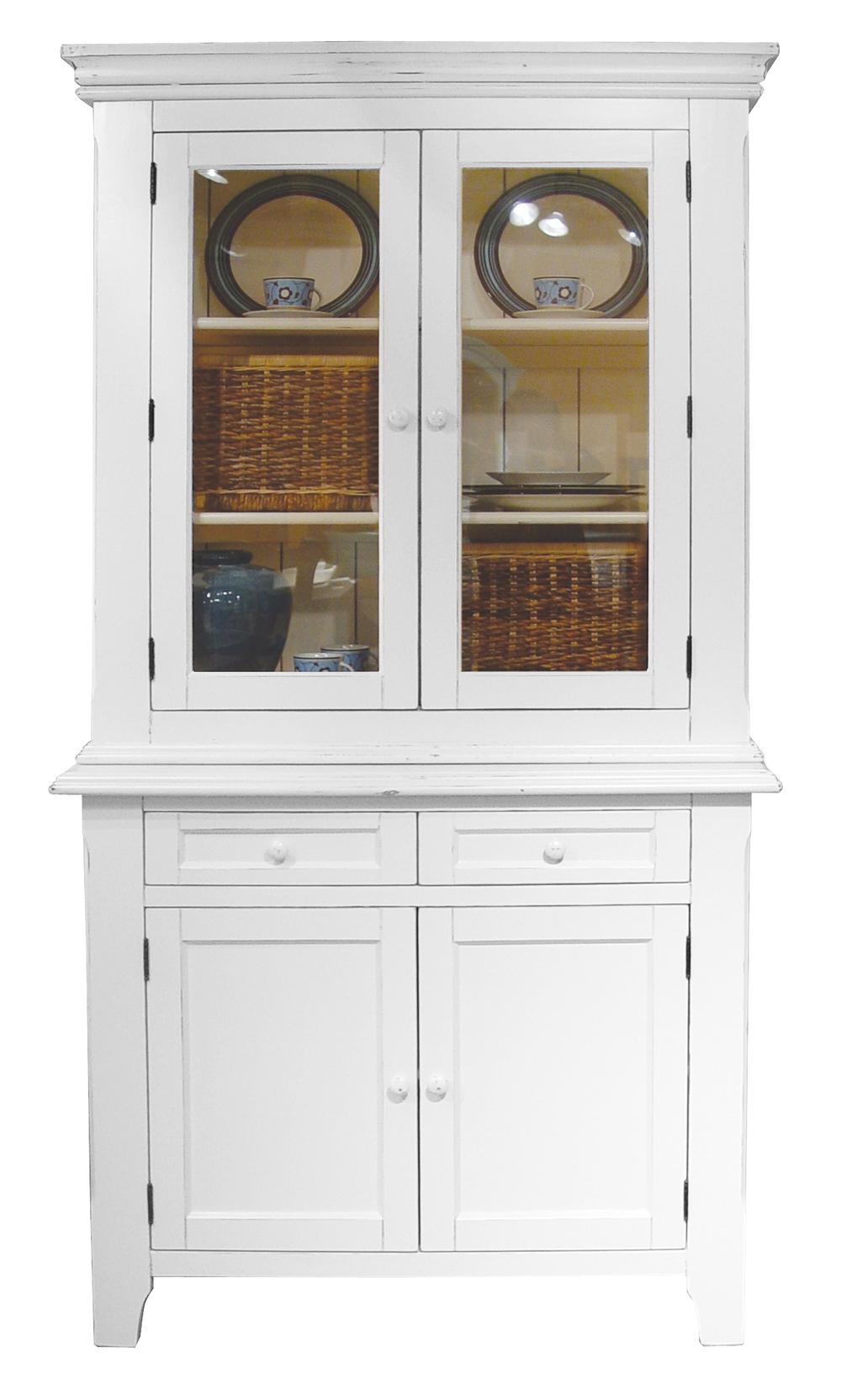 Trade Winds Furniture - Provence Hutch/Bookcase
