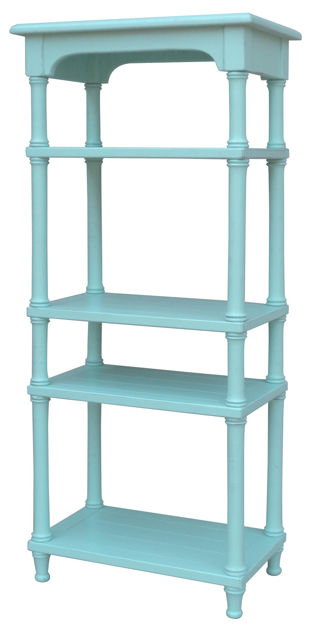 Trade Winds Furniture - Island Display Shelf