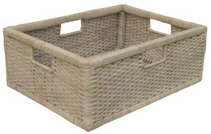 Thumbnail of Trade Winds Furniture - Cane Media Basket