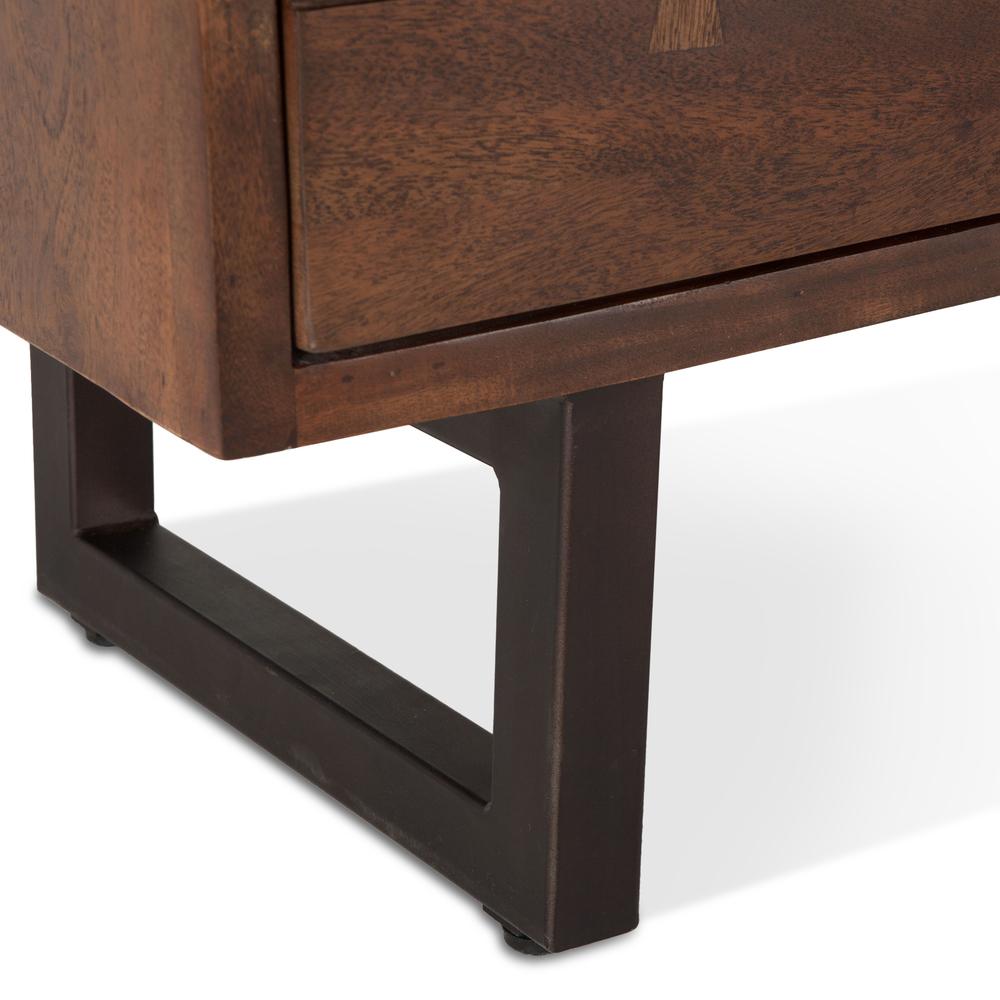 """Home Trends & Design - Aspen Dresser 56"""" Walnut"""
