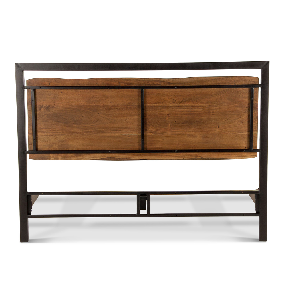 Home Trends & Design - Aspen King Bed Walnut