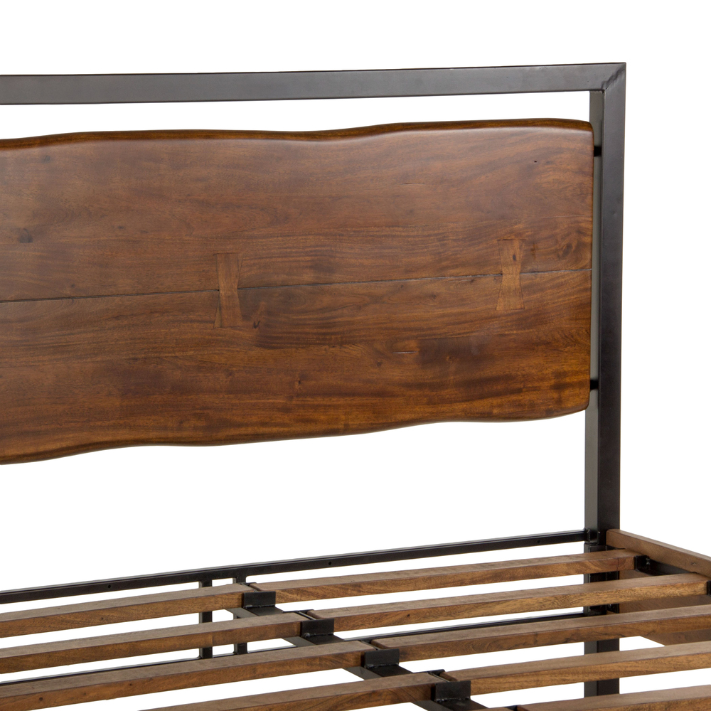 Home Trends & Design - Aspen King Bed Walnut