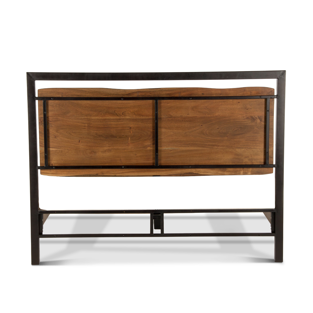 Home Trends & Design - Aspen Queen Bed Walnut