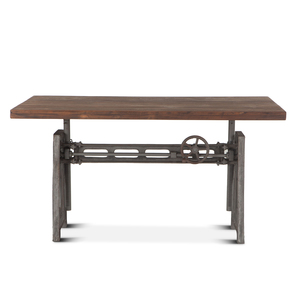 "Thumbnail of Home Trends & Design - Industrial Loft Office Desk 60"" Gray"