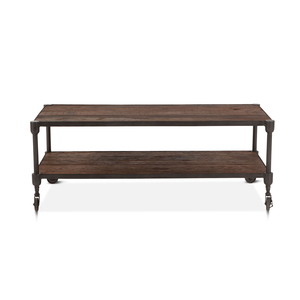 """Thumbnail of Home Trends & Design - Industrial Teak Coffee Table 48"""""""