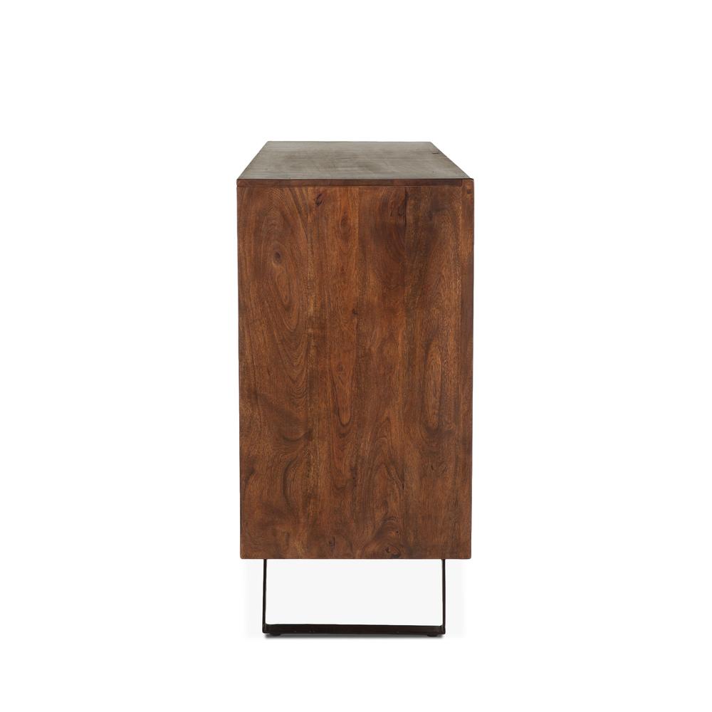 "Home Trends & Design - London Loft Dresser 71"" walnut"