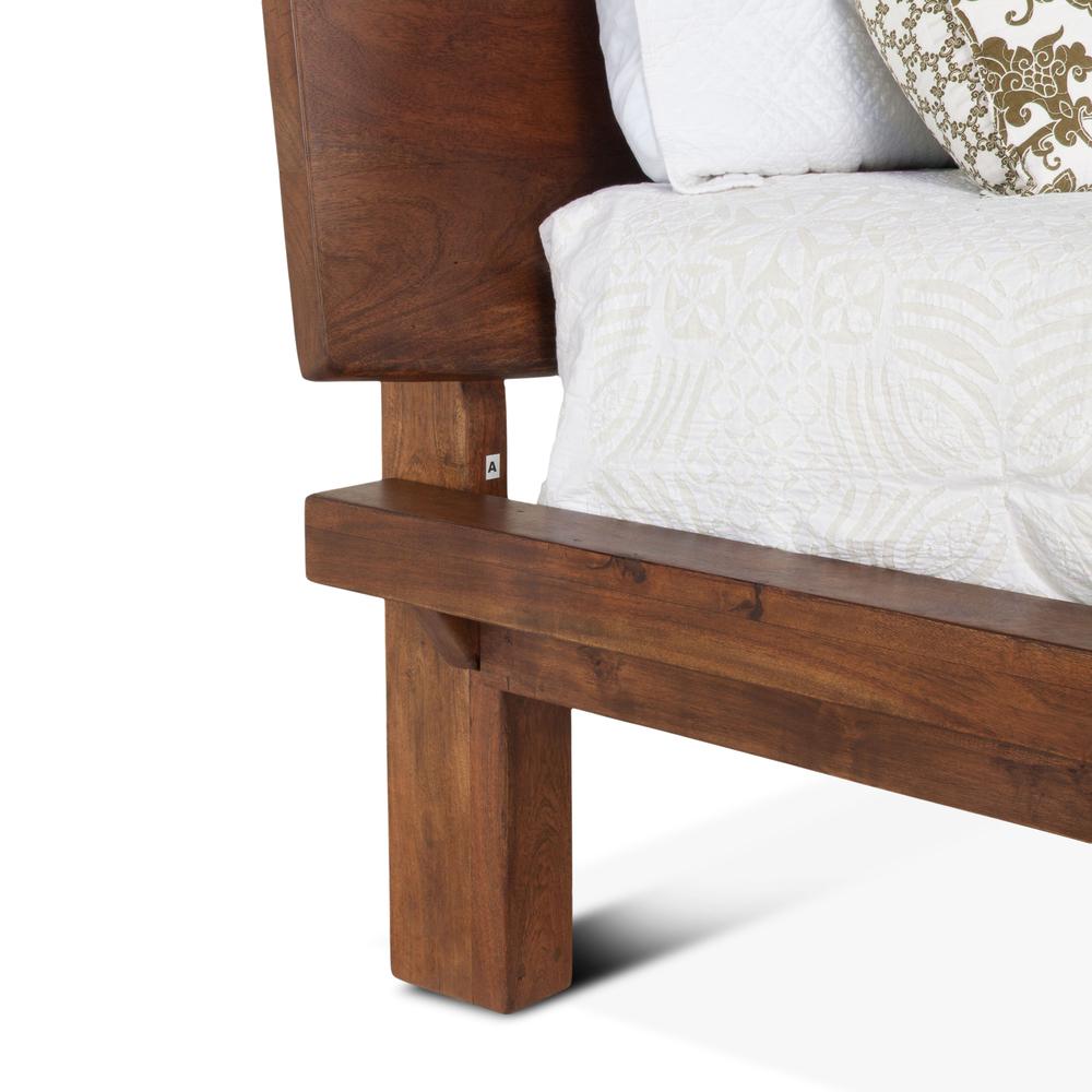 Home Trends & Design - London Loft Bed King Walnut