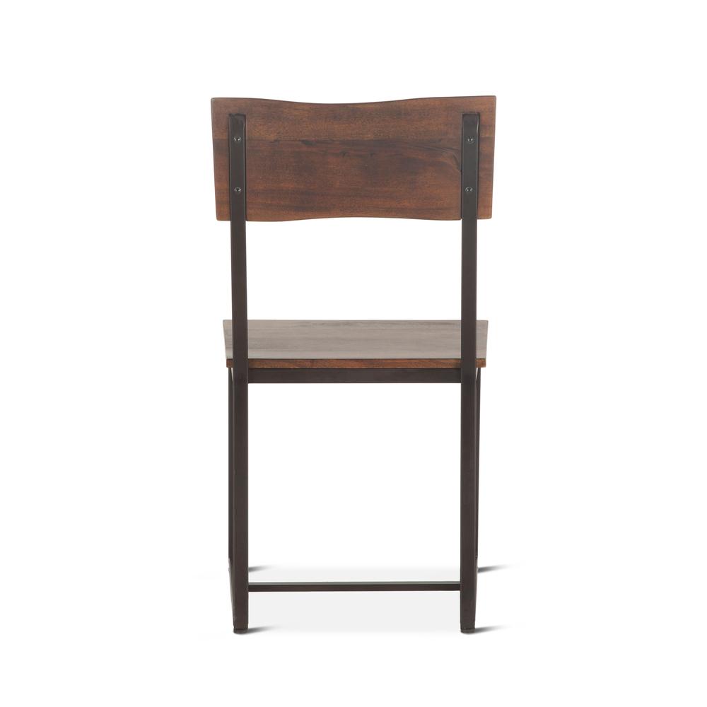"Home Trends & Design - Loft Dining Chair 18"" Walnut"