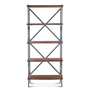 Thumbnail of Home Trends & Design - Organic Forge Tall Bookshelf