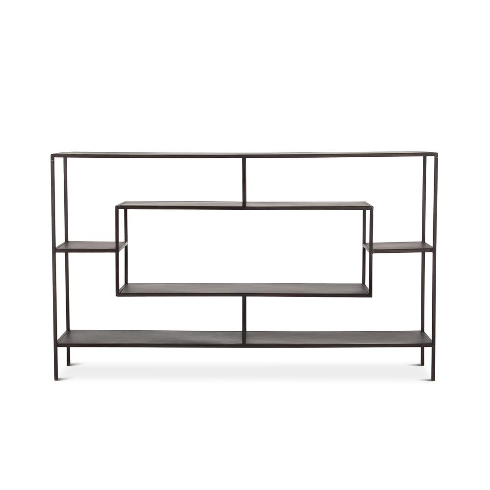 """Home Trends & Design - Parson Buffet 66"""" Antique Zinc"""