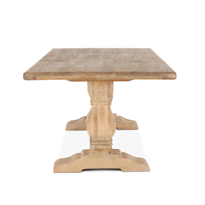 "Thumbnail of Home Trends & Design - San Rafael Dining Table 84"" Antique Oak"
