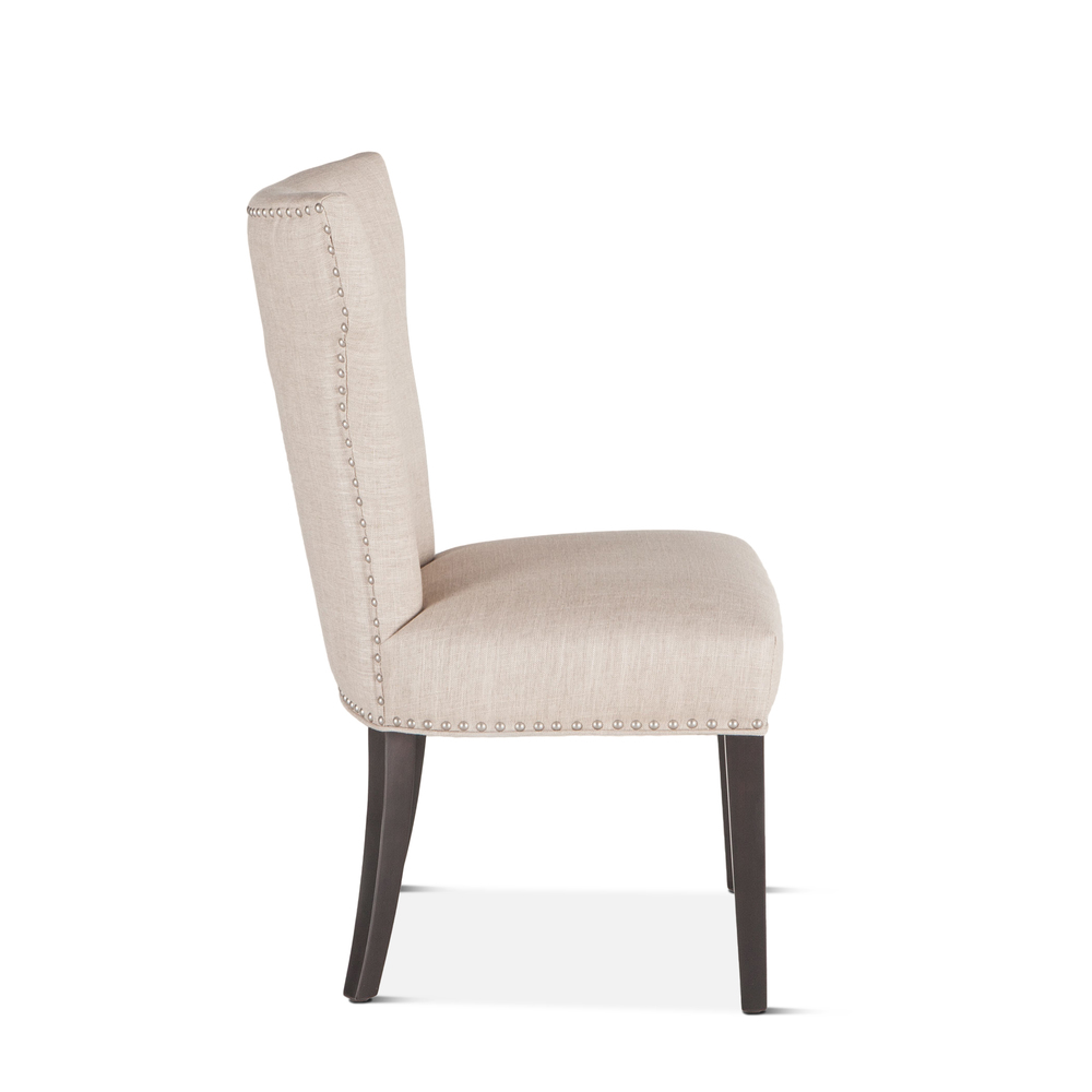 Home Trends & Design - Rebecca Dining Chair Beige