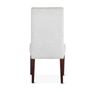 Thumbnail of Home Trends & Design - Jones Dining Chair Off-White with Dark Legs