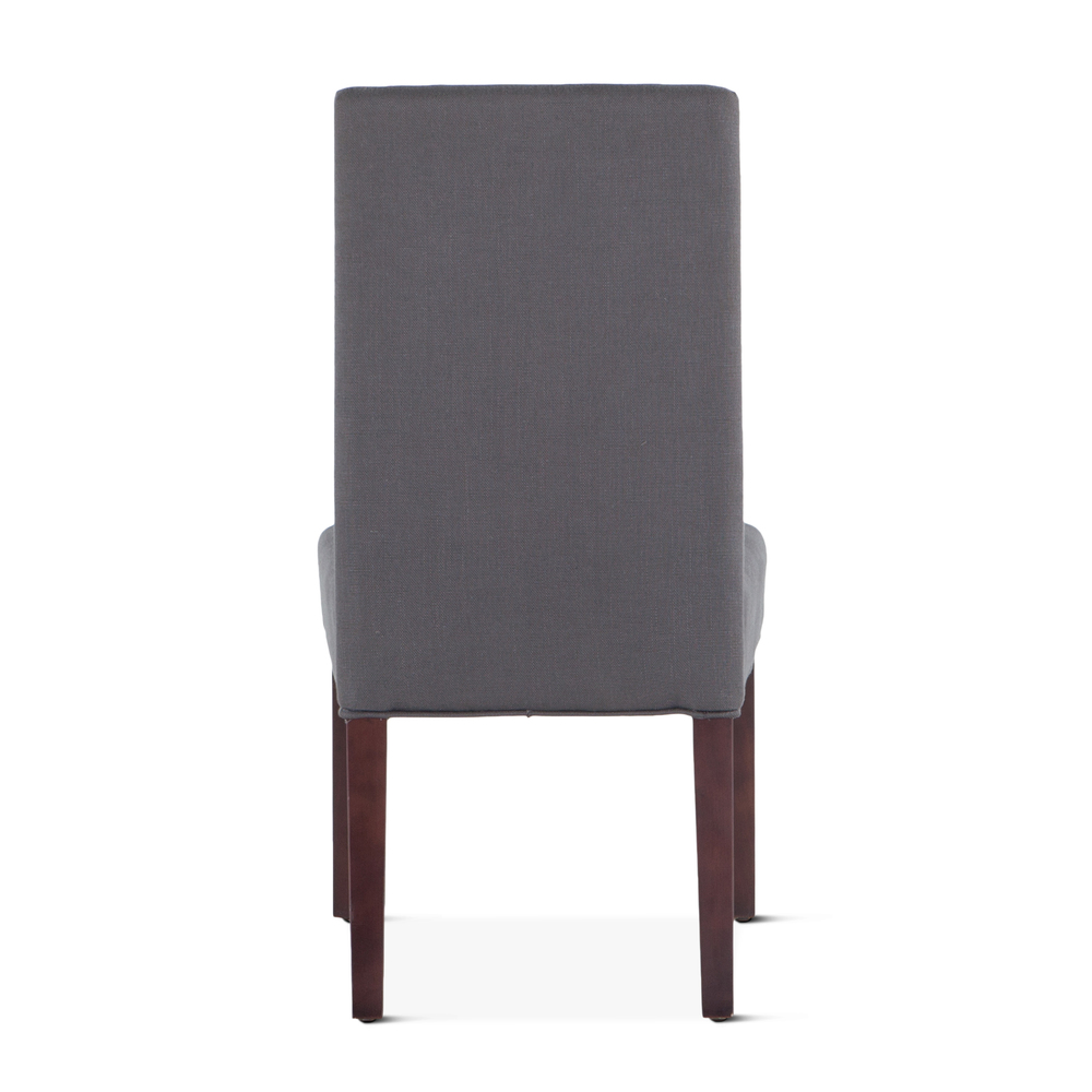 Home Trends & Design - Jones Dining Chair Gray with Dark Legs