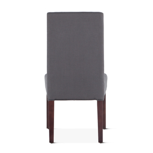 Thumbnail of Home Trends & Design - Jones Dining Chair Gray with Dark Legs