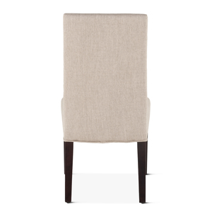 Thumbnail of Home Trends & Design - Jones Dining Chair Beige with Dark Legs
