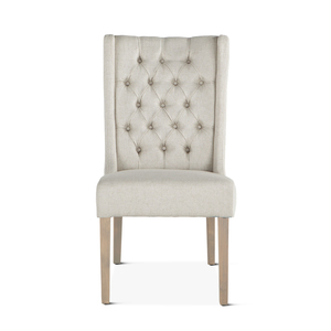 Thumbnail of Home Trends & Design - Lara Dining Chair Off-White with Napoleon Legs