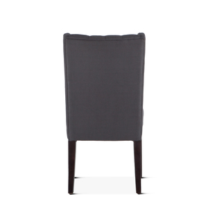 Thumbnail of Home Trends & Design - Lara Dining Chair Gray with Dark Legs