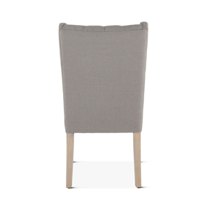 Thumbnail of Home Trends & Design - Lara Dining Chair Warm Gray with Napoleon Legs