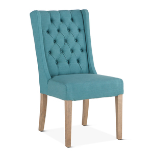 Thumbnail of Home Trends & Design - Lara Dining Chair Teal with Napoleon Legs