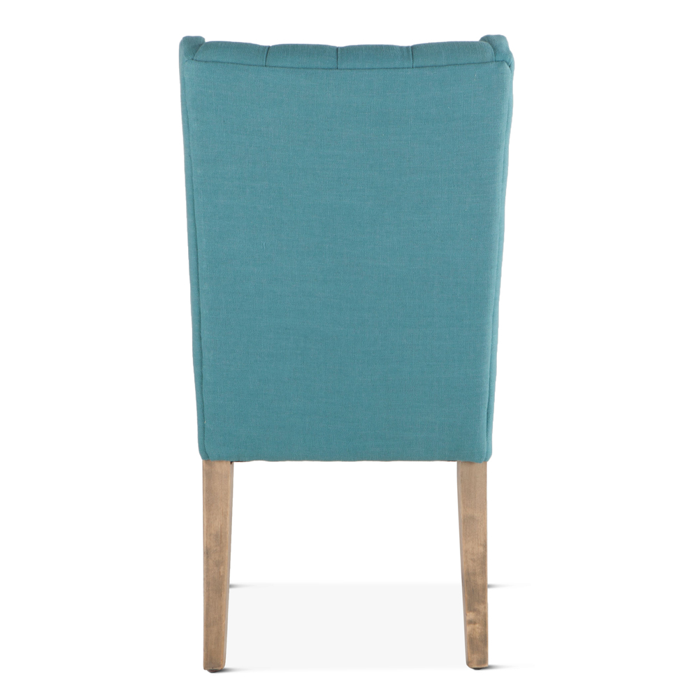 Home Trends & Design - Lara Dining Chair Teal with Napoleon Legs
