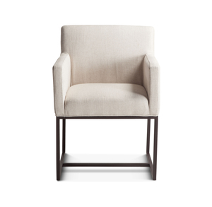 Thumbnail of Home Trends & Design - Renegade Off-White Dining Arm Chair