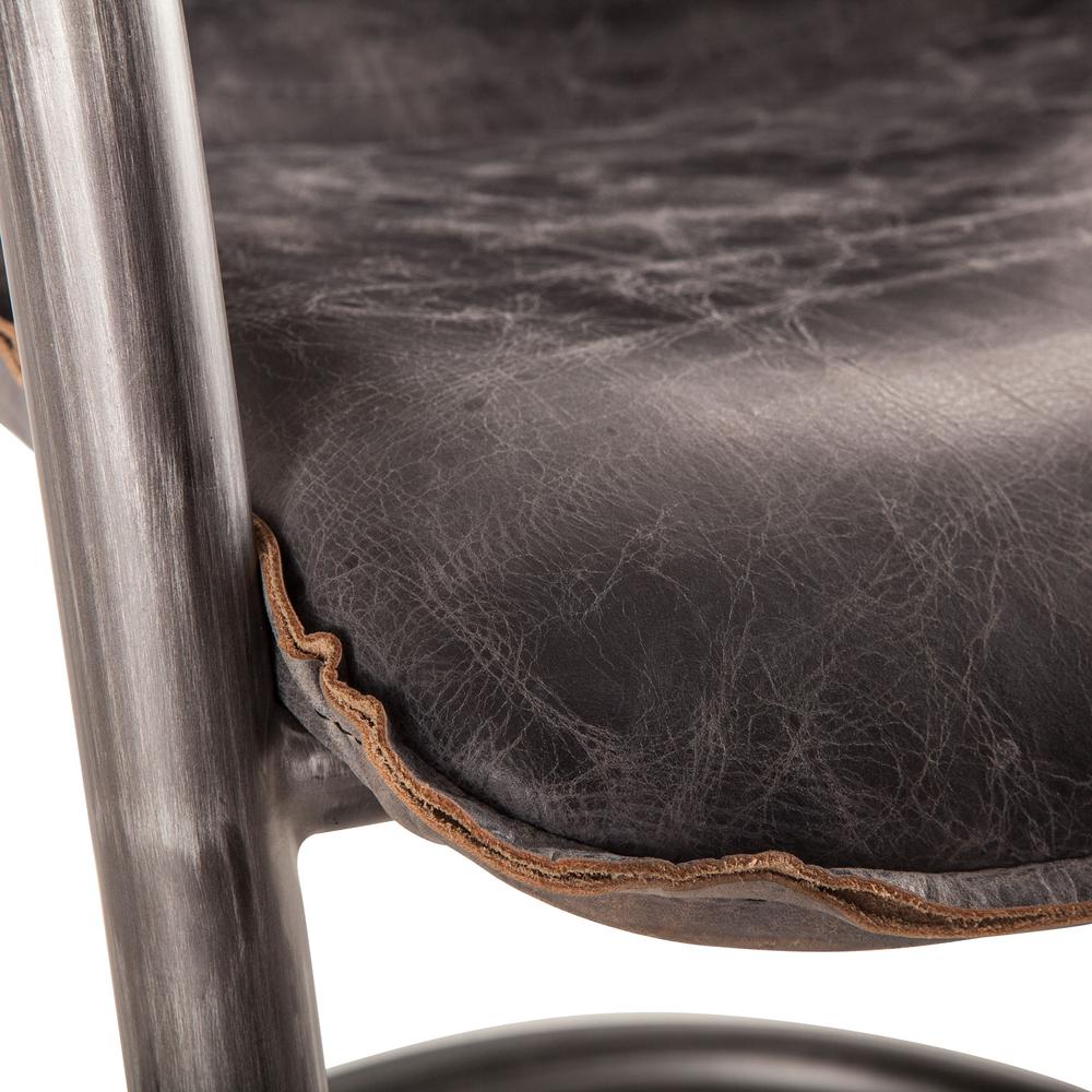 Home Trends & Design - Portofino Dining Chair Antique Ebony