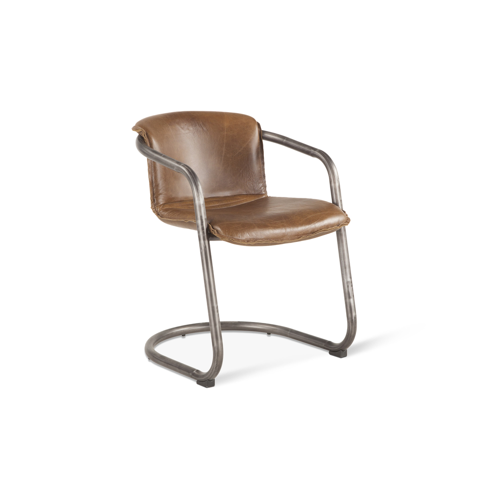 Home Trends & Design - Portofino Dining Chair Chestnut
