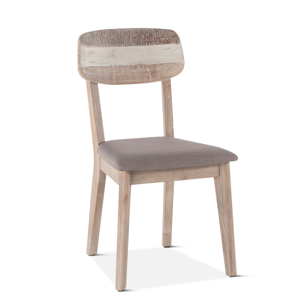 Home Trends & Design - Boardwalk Dining Chair Upholstered Seat