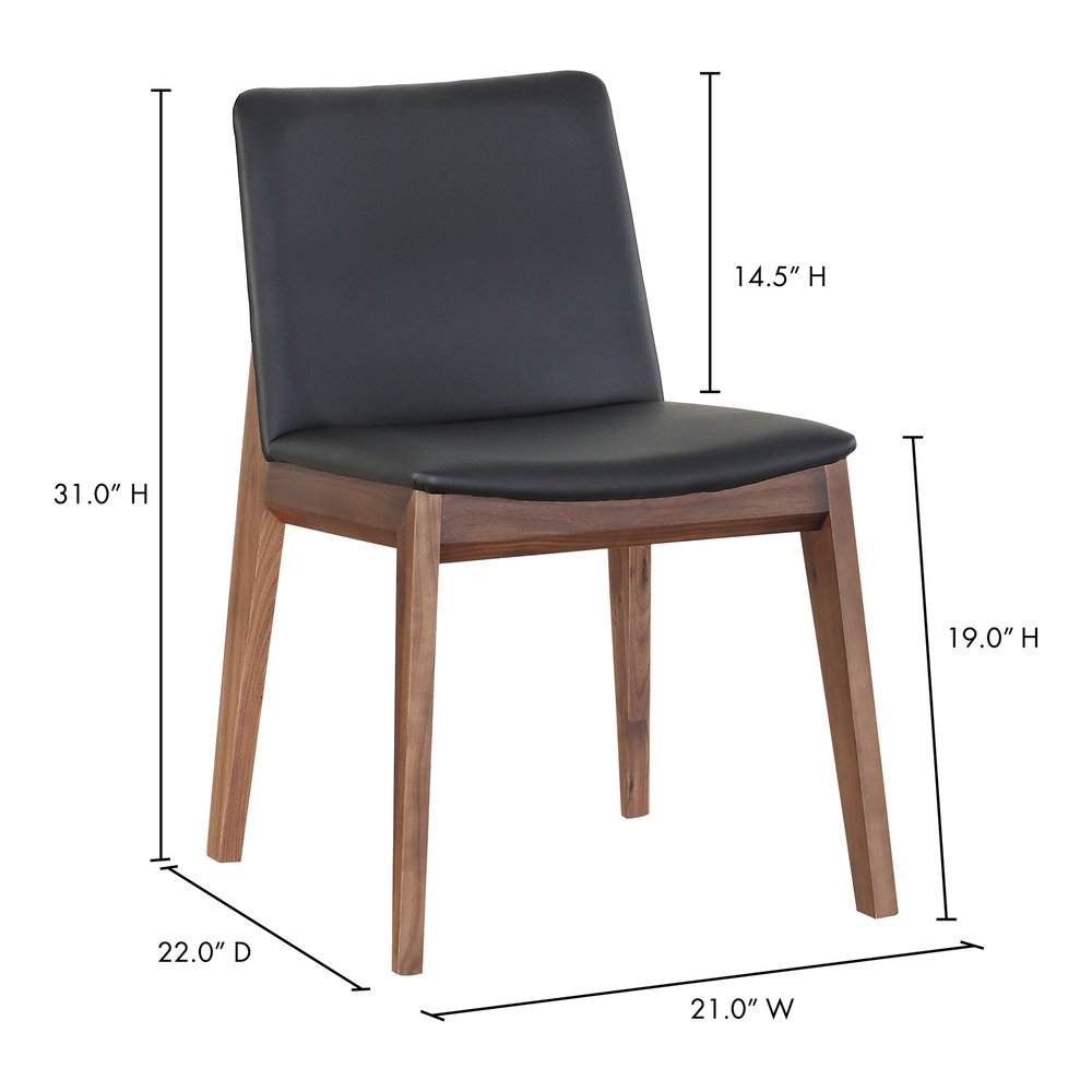 Moe's Home Collection - Deco Dining Chair (M2)