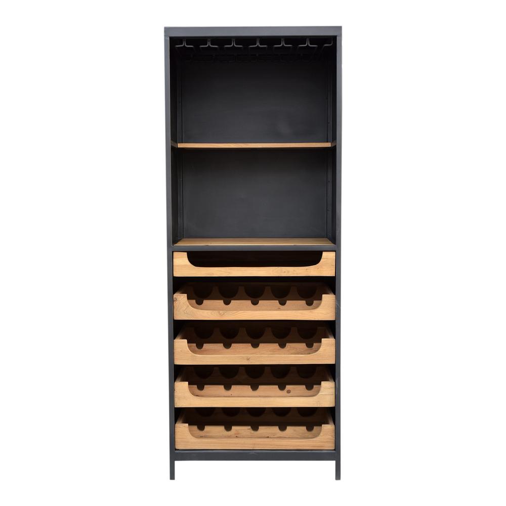 Moe's Home Collection - Chefs Teak Wine Bar