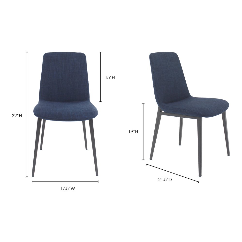 Moe's Home Collection - Kito Dining Chair - Multiple of 2