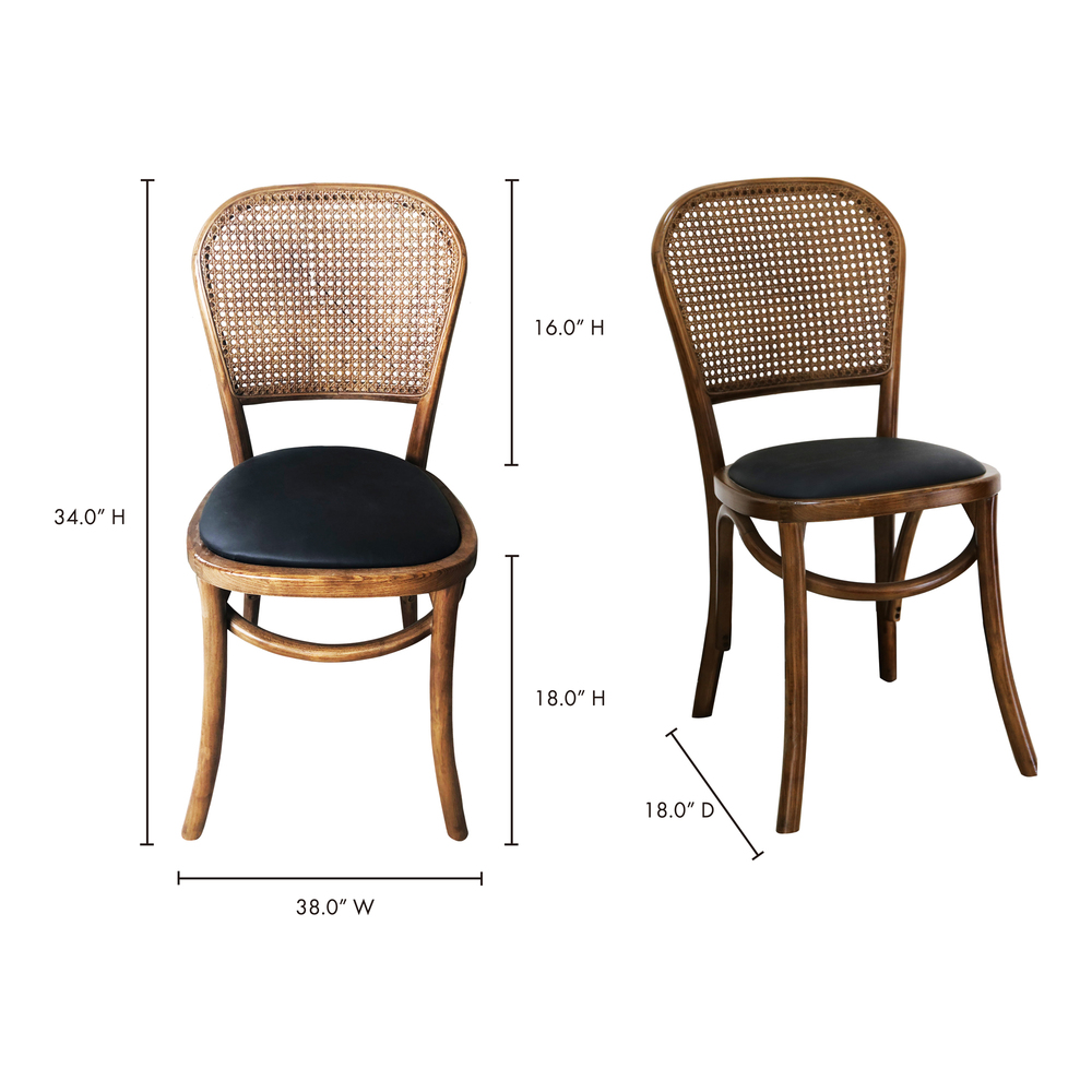 Moe's Home Collection - Bedford Dining Chair (M2)