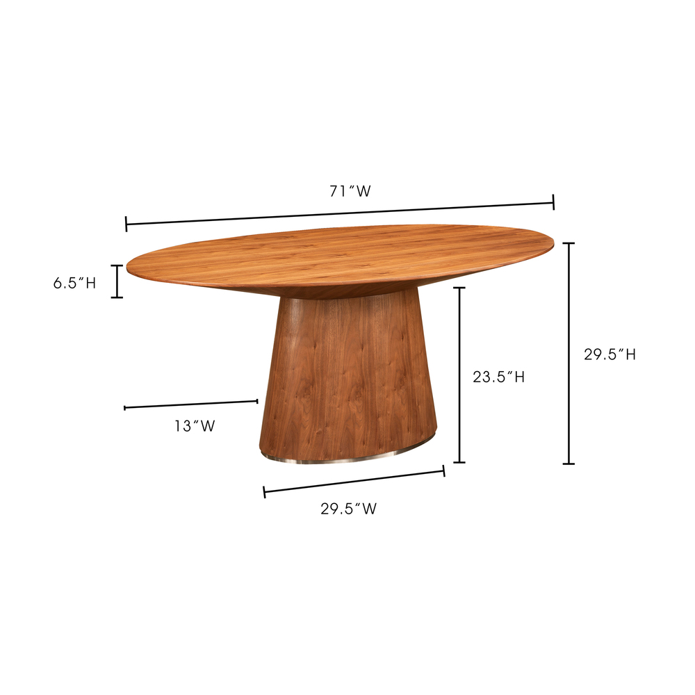 Moe's Home Collection - Otago Oval Dining Table