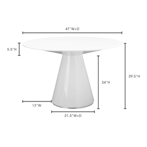 Thumbnail of Moe's Home Collection - Otago Dining Table