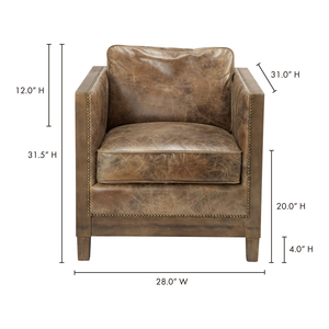 Thumbnail of Moe's Home Collection - Darlington Club Chair