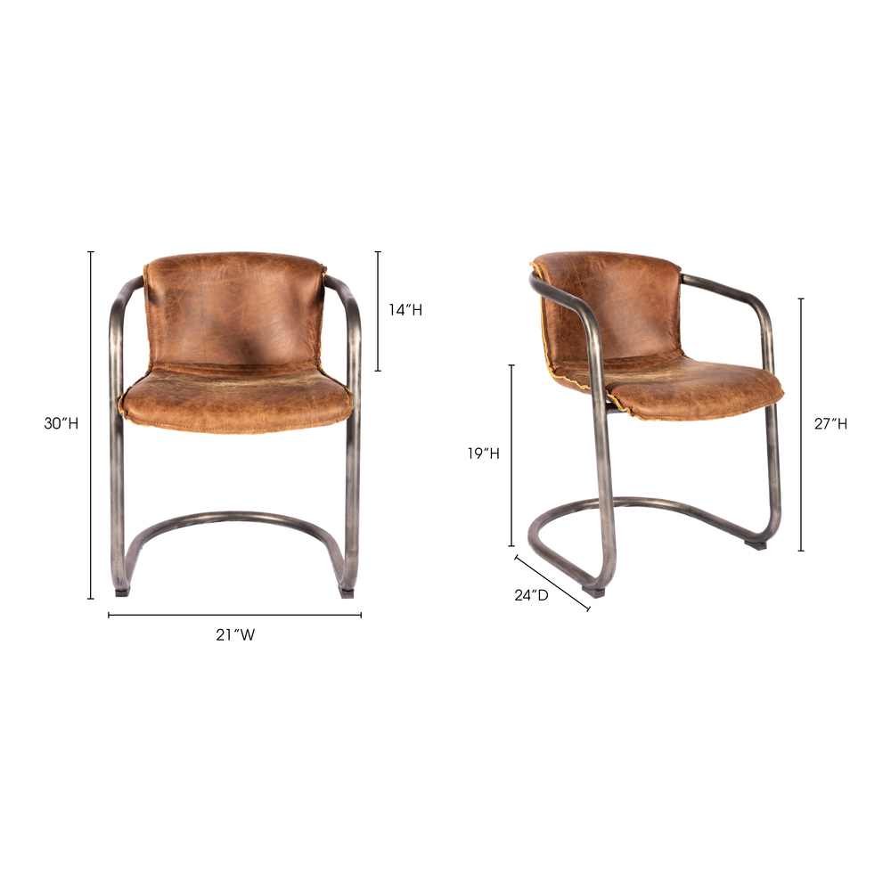 Moe's Home Collection - Benedict Dining Chair (M2)