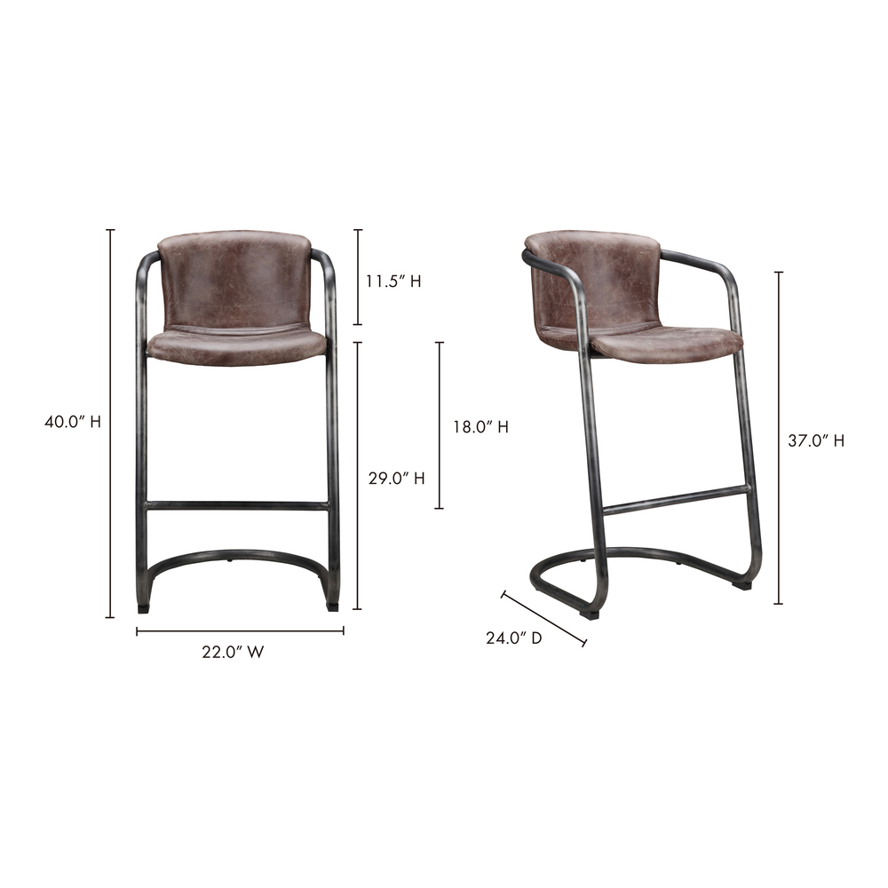 Moe's Home Collection - Freeman Bar Stool - Multiple of 2