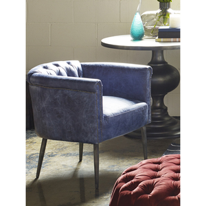 Thumbnail of Moe's Home Collection - Shapkin Leather Arm Chair