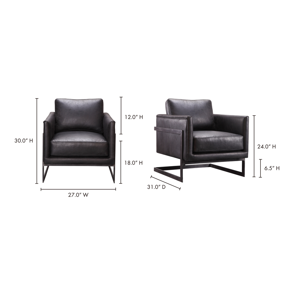 Moe's Home Collection - Luxley Club Chair